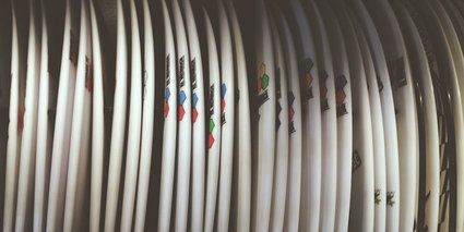 Material sostenible para tablas de surf