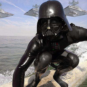 """Darth Surfer is your father"" y otras horteradas surferas"