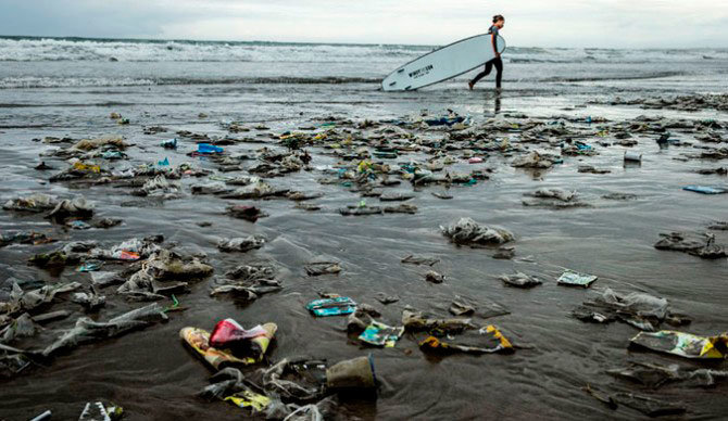 The plastic plague. Foto: Jason Childs