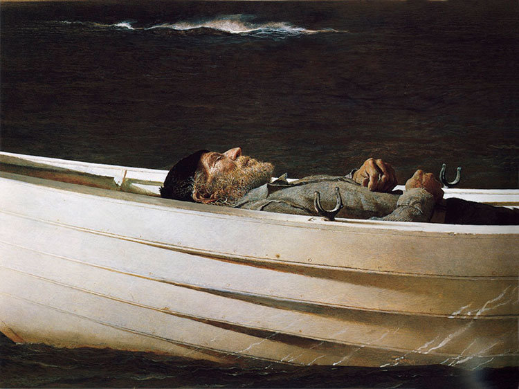 Andrew Wyeth - Adrift