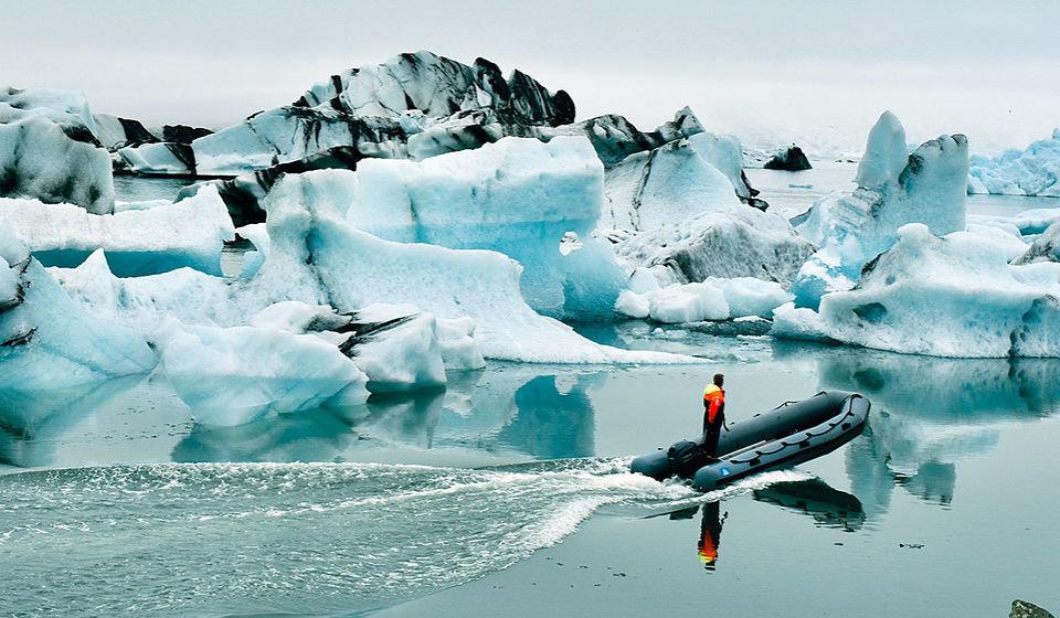 UN News/Laura Quiñones - El lago de glaciares Jökulsárlón en Islandia continúa creciendo a medida que el glaciar con el mismo nombre se derrite.
